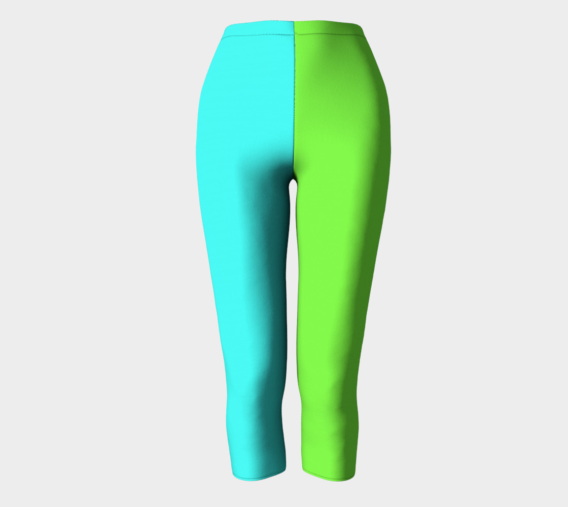Minty Lime Capris preview #2