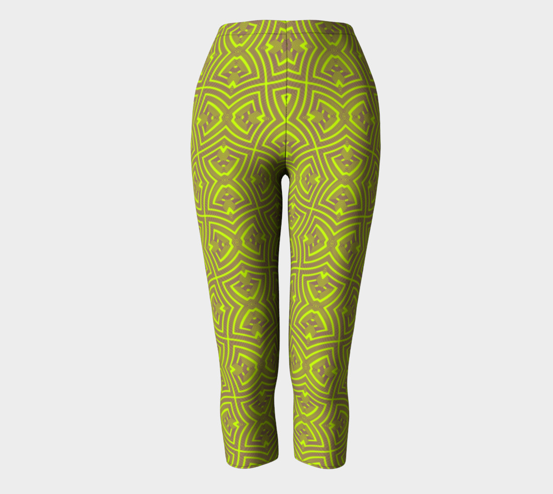 Green twisted pattern preview #2