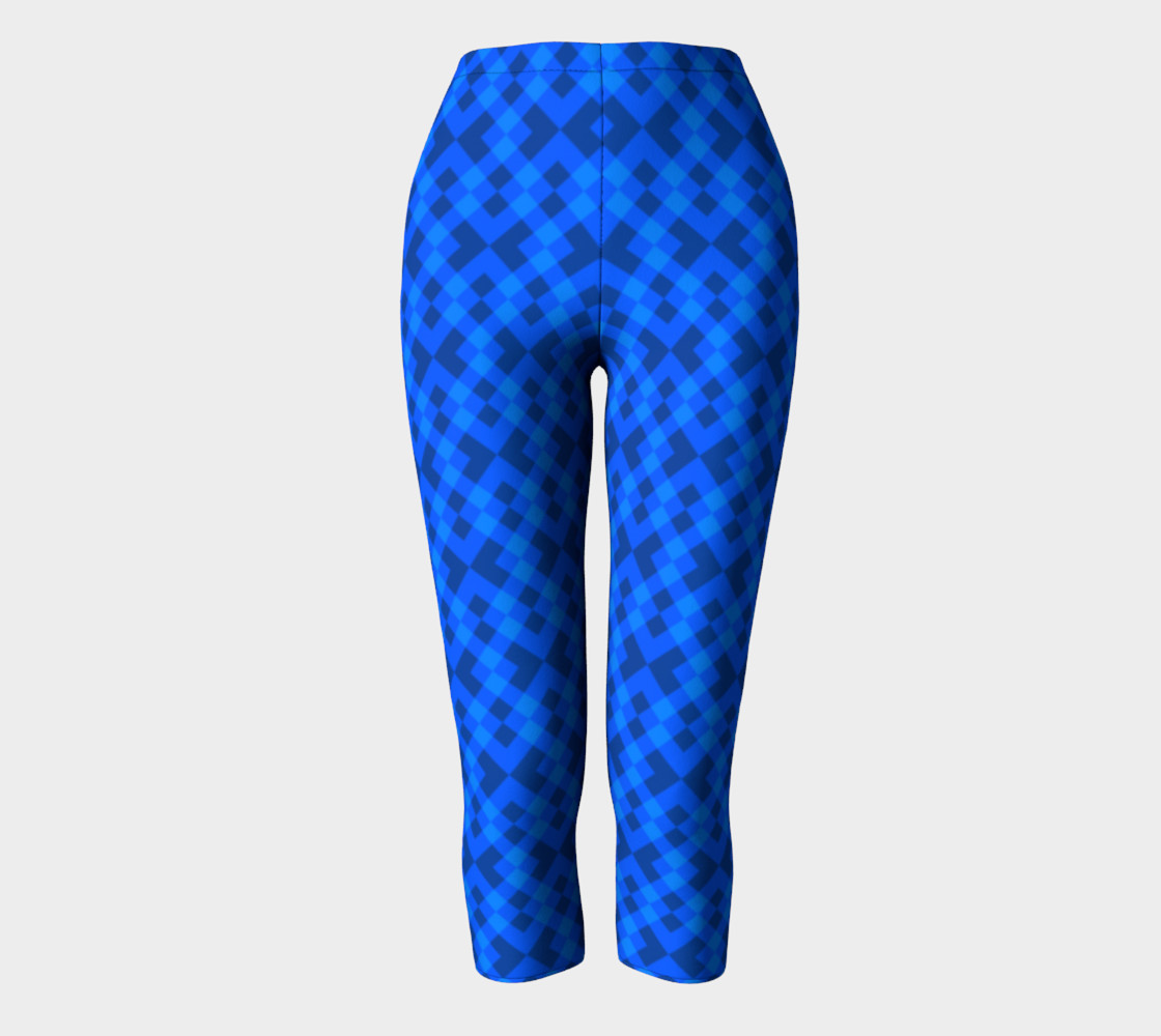 Hypnotic blue pattern preview #2