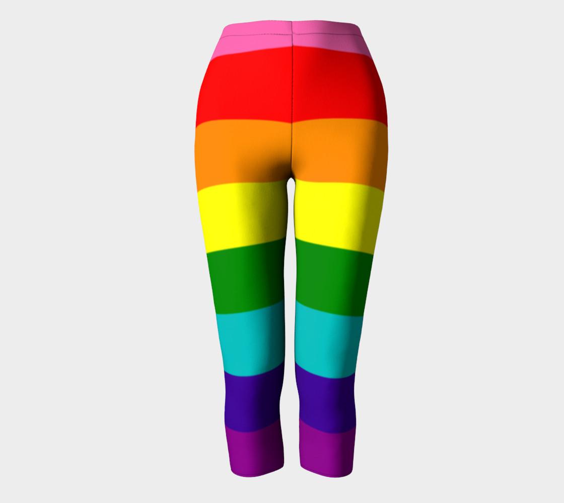 Rainbow Flag Original 8 Stripes Pattern LGBT Pride preview #2
