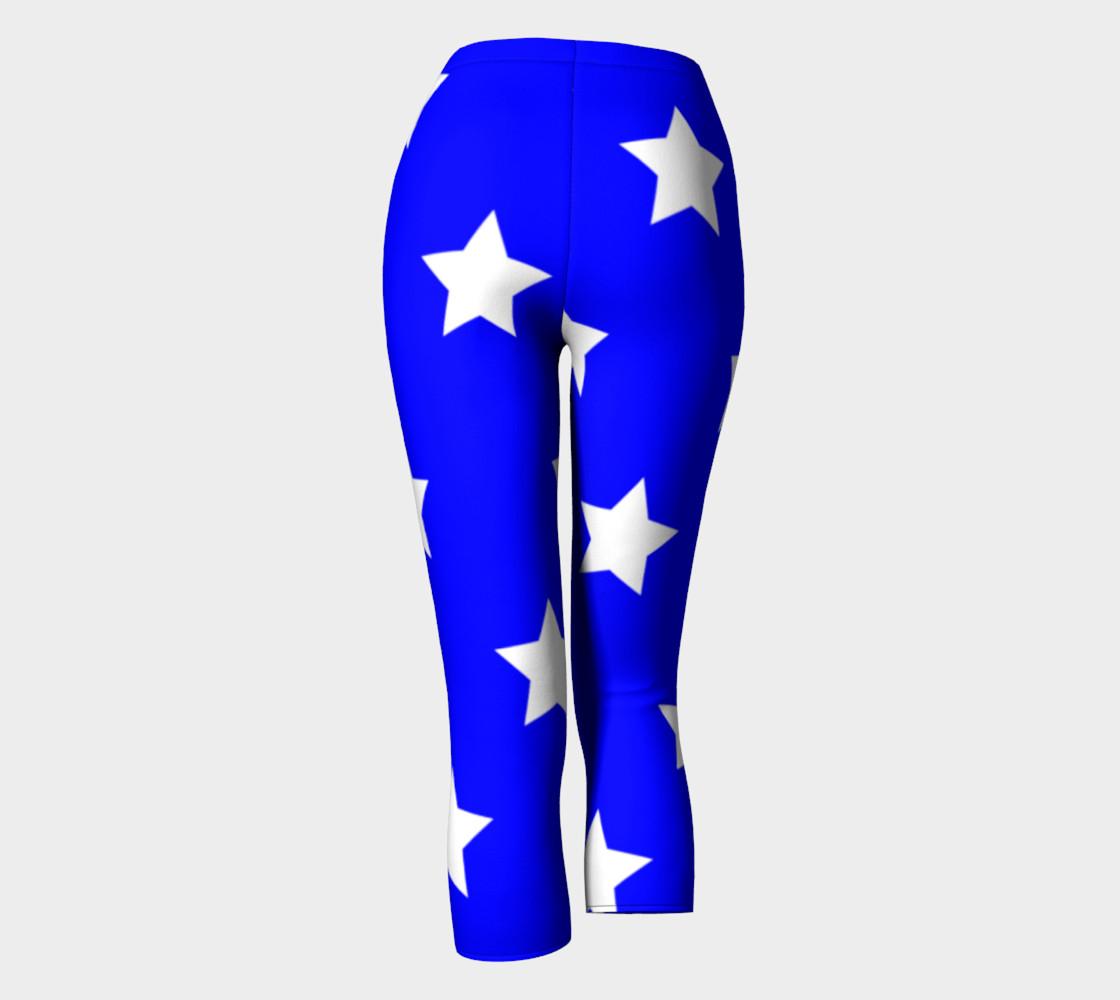Stars Capris Blue preview #4