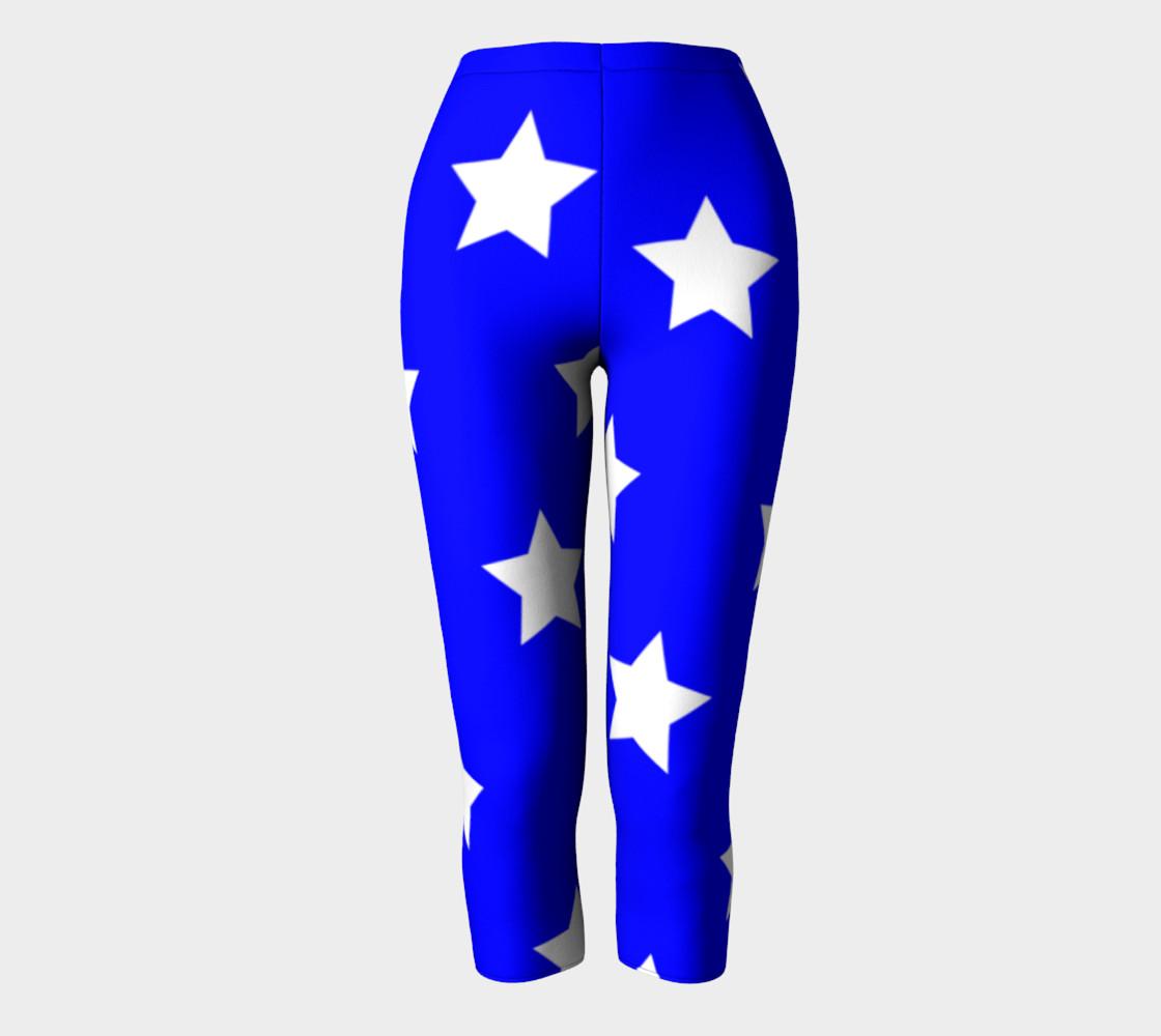 Stars Capris Blue preview #2