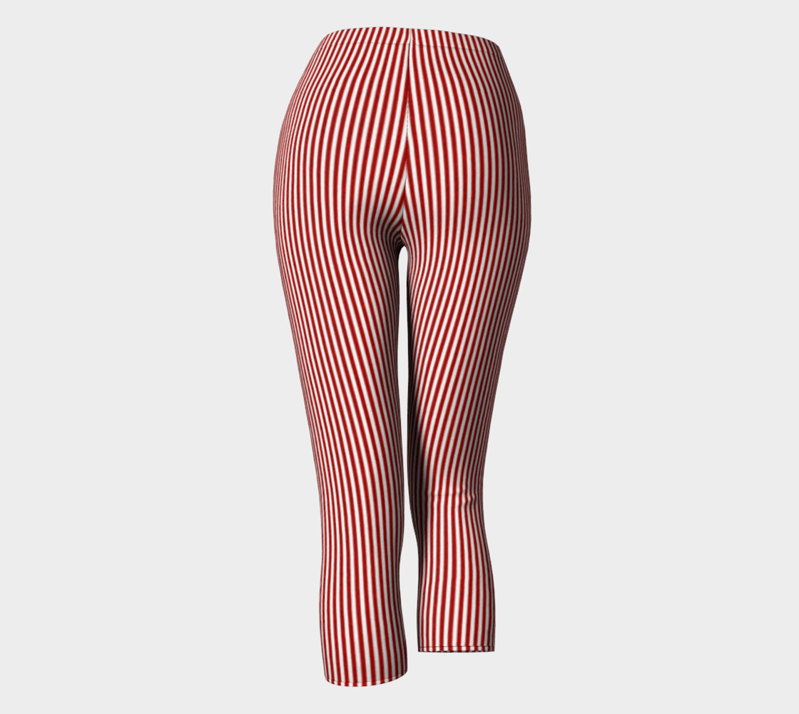 A red striped lace pattern preview #4