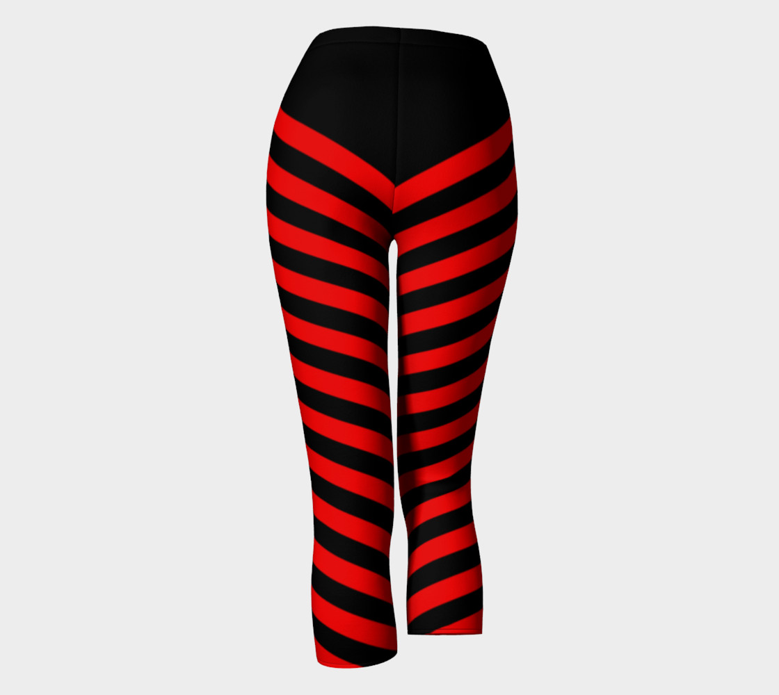 Stripes Collection - Triangle Stripes - Red   preview #4