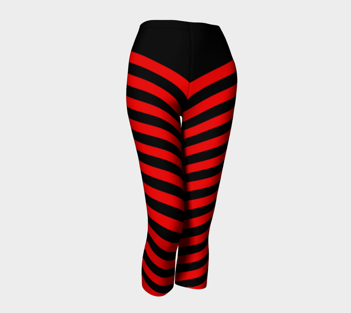 Stripes Collection - Triangle Stripes - Red   preview #1