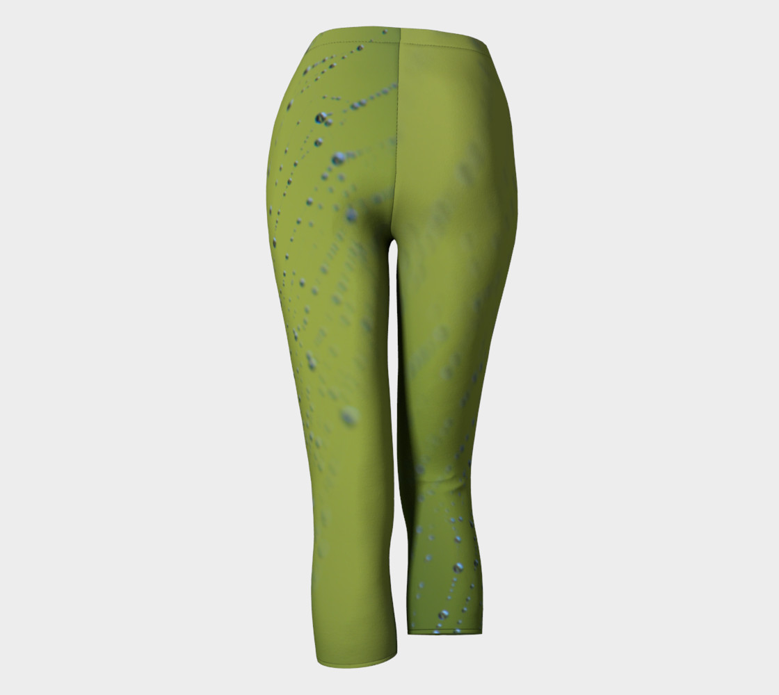 Aperçu de Wet Web Green Capris #4