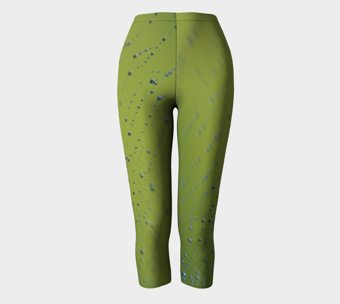 Aperçu de Wet Web Green Capris #2