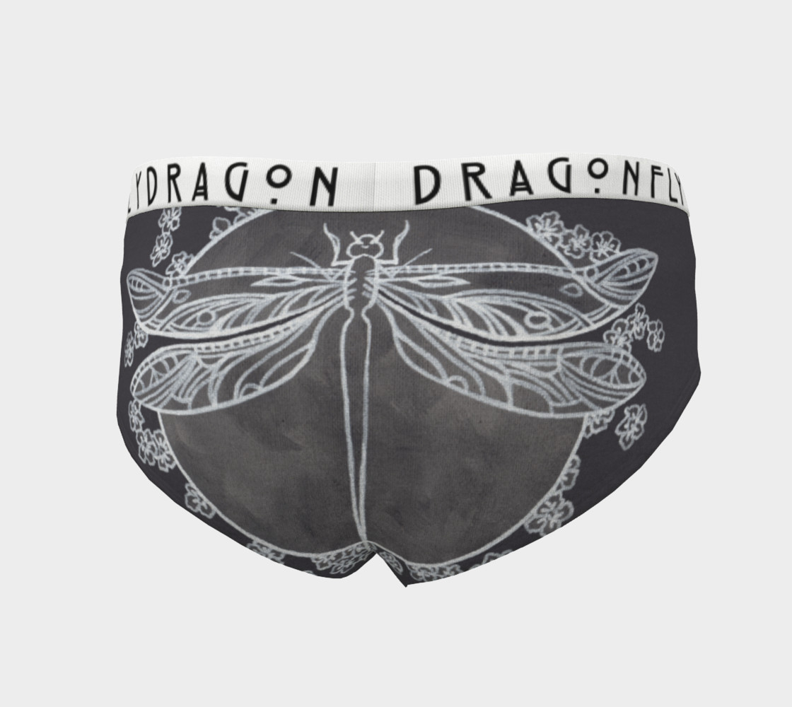 DragonFly cheeky briefs White band preview #4