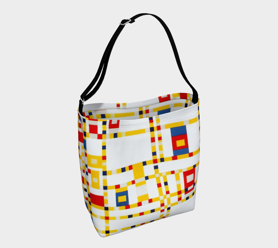 Aperçu de Mondrian Abstract Art Broadway #1