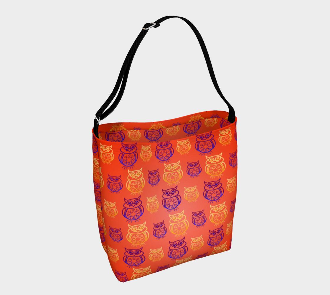 Owl Design Orange   preview #1