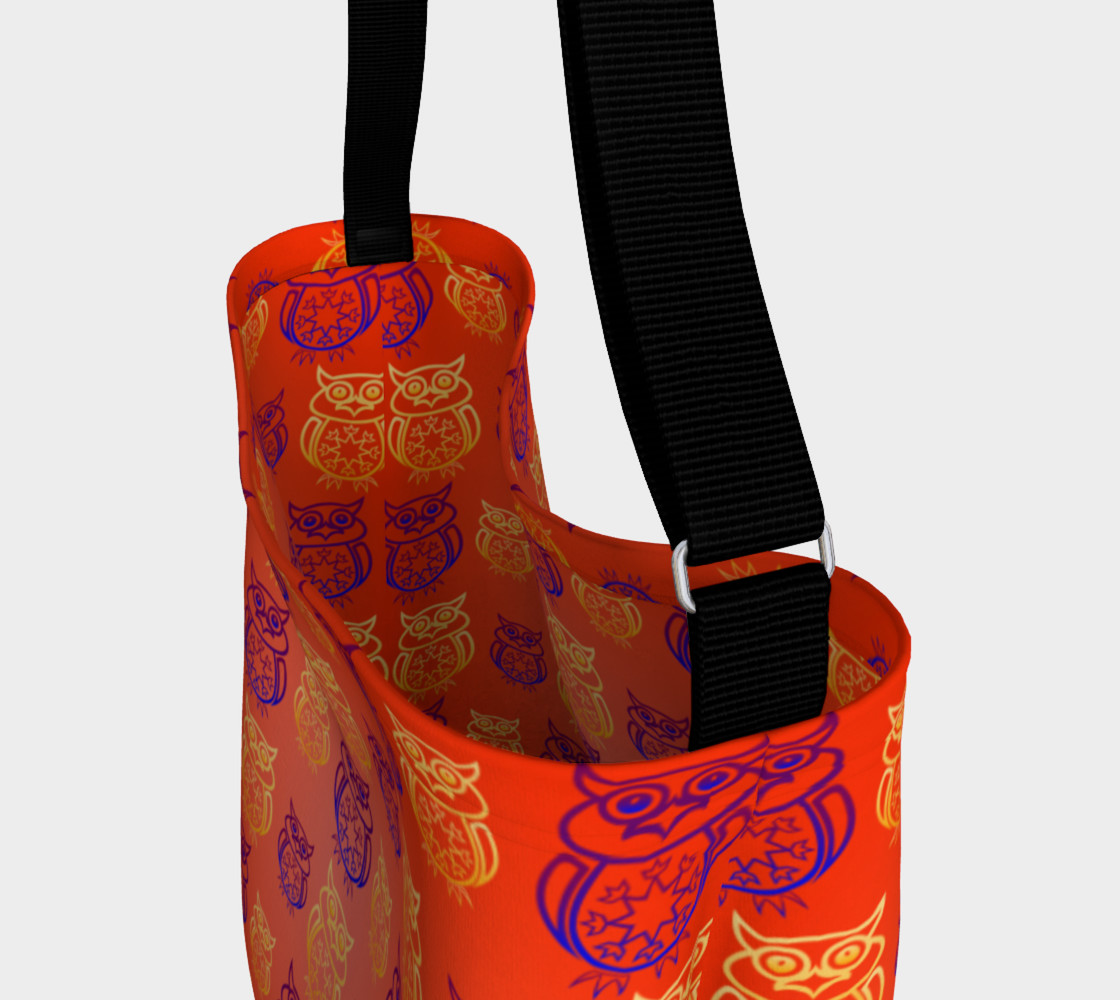 Owl Design Orange   preview #3