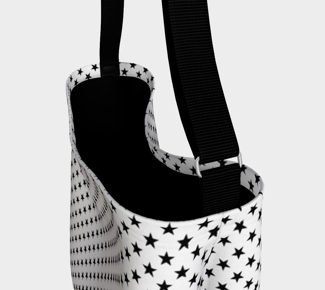 Aperçu de Black Stars on White #3
