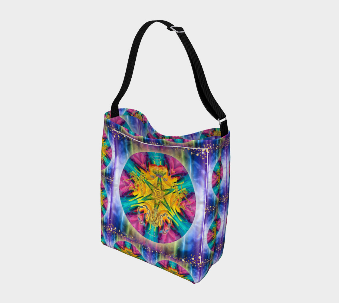 Harmonics Of Your Soul Day Tote preview #2
