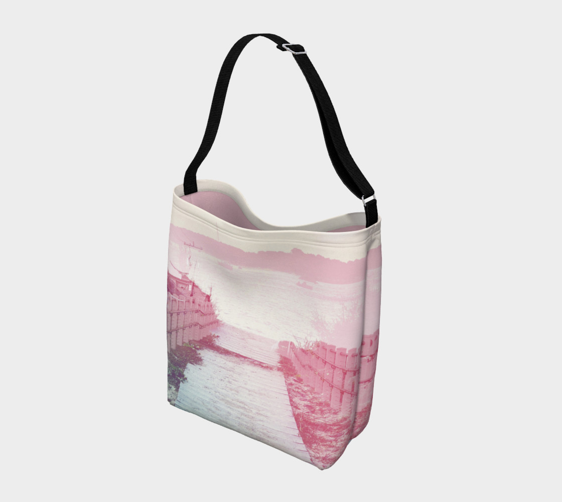 Pink Boardwalk Day Tote preview #2