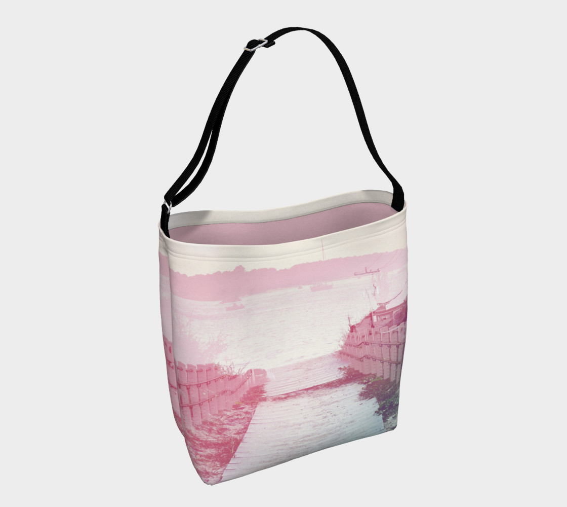 Pink Boardwalk Day Tote preview #1