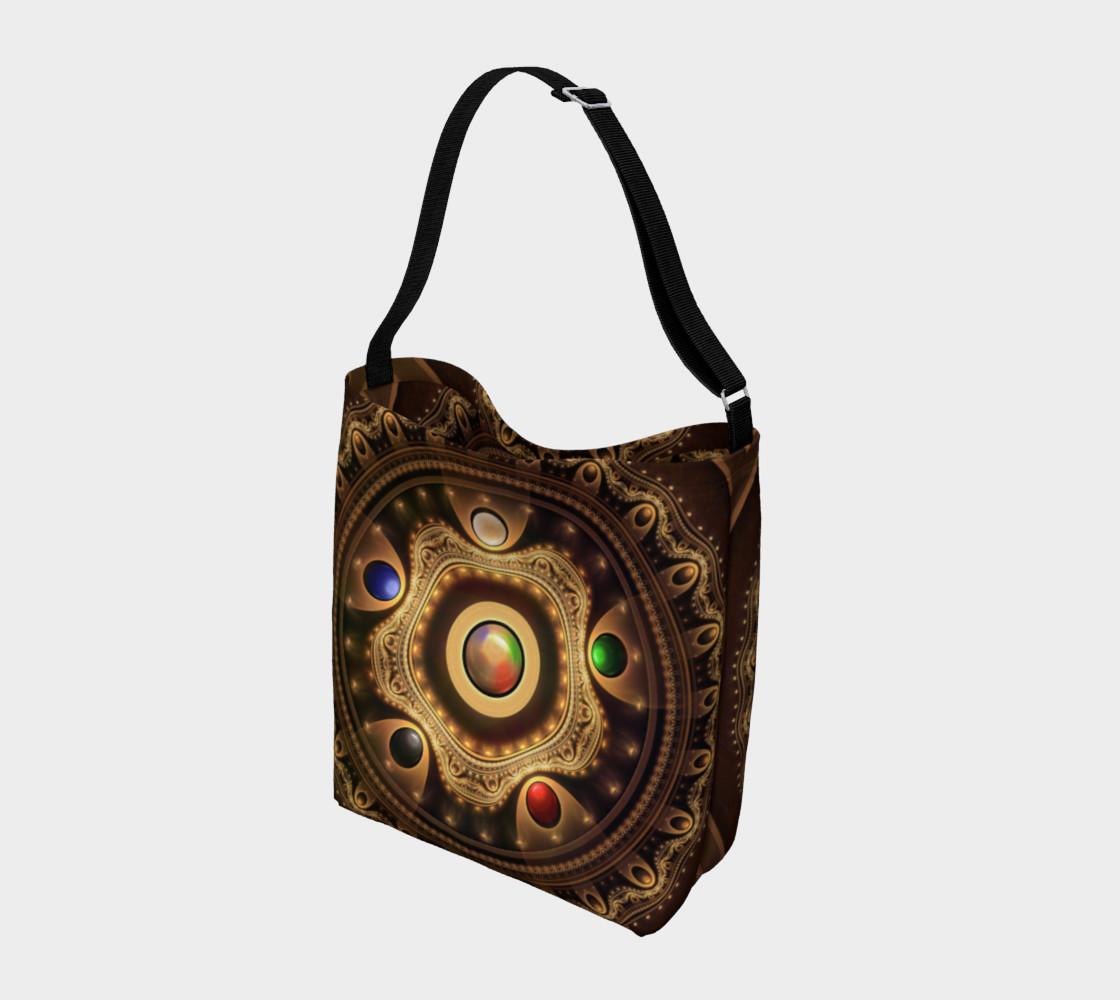 Aperçu de 5 Fractal Colors of Magic the Gathering Day Tote Bag #2