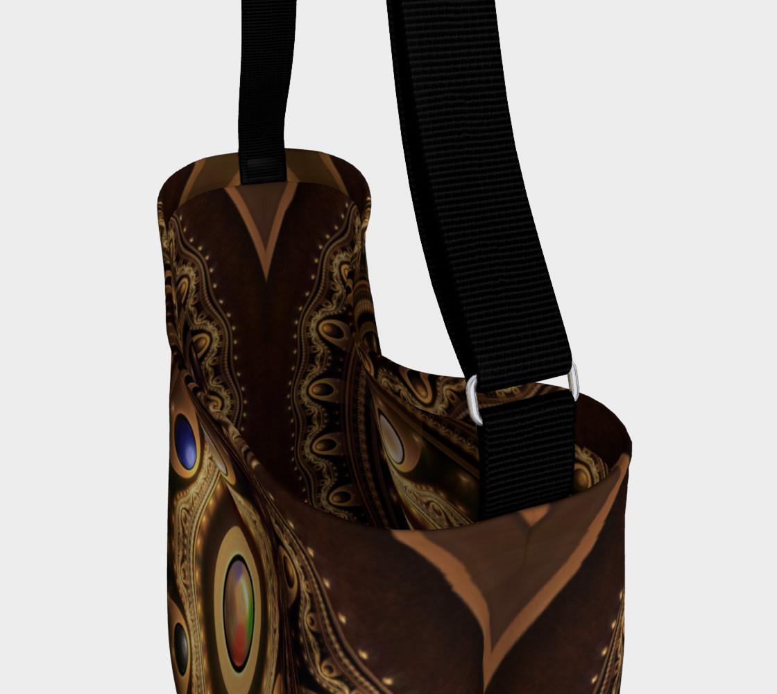 Aperçu de 5 Fractal Colors of Magic the Gathering Day Tote Bag #3