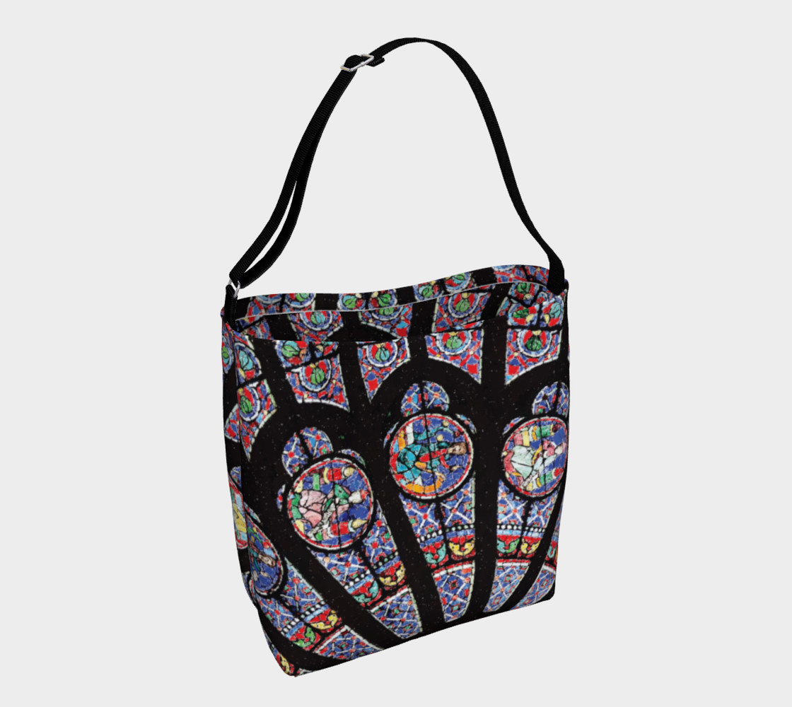 Rose South Window, Notre Dame Paris Day Tote preview #1