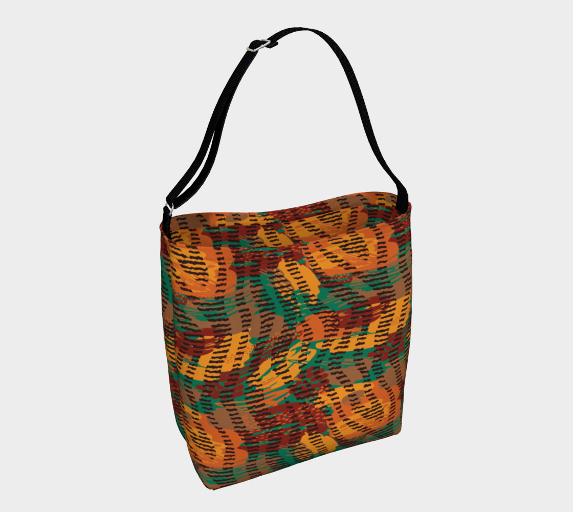 Abstract Animal Stripes Day Tote preview #1