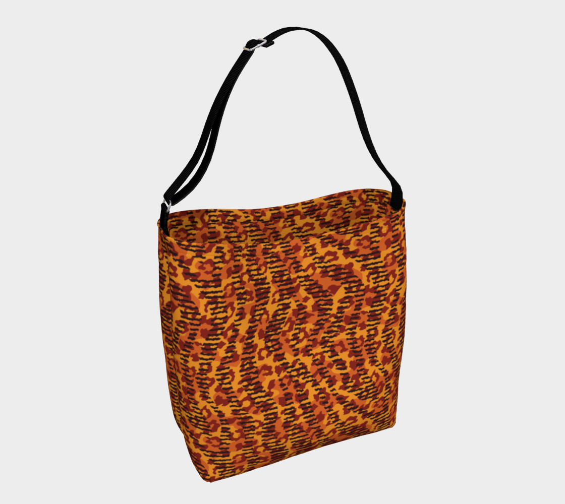 Animal Stripes and Spots Day Tote preview #1