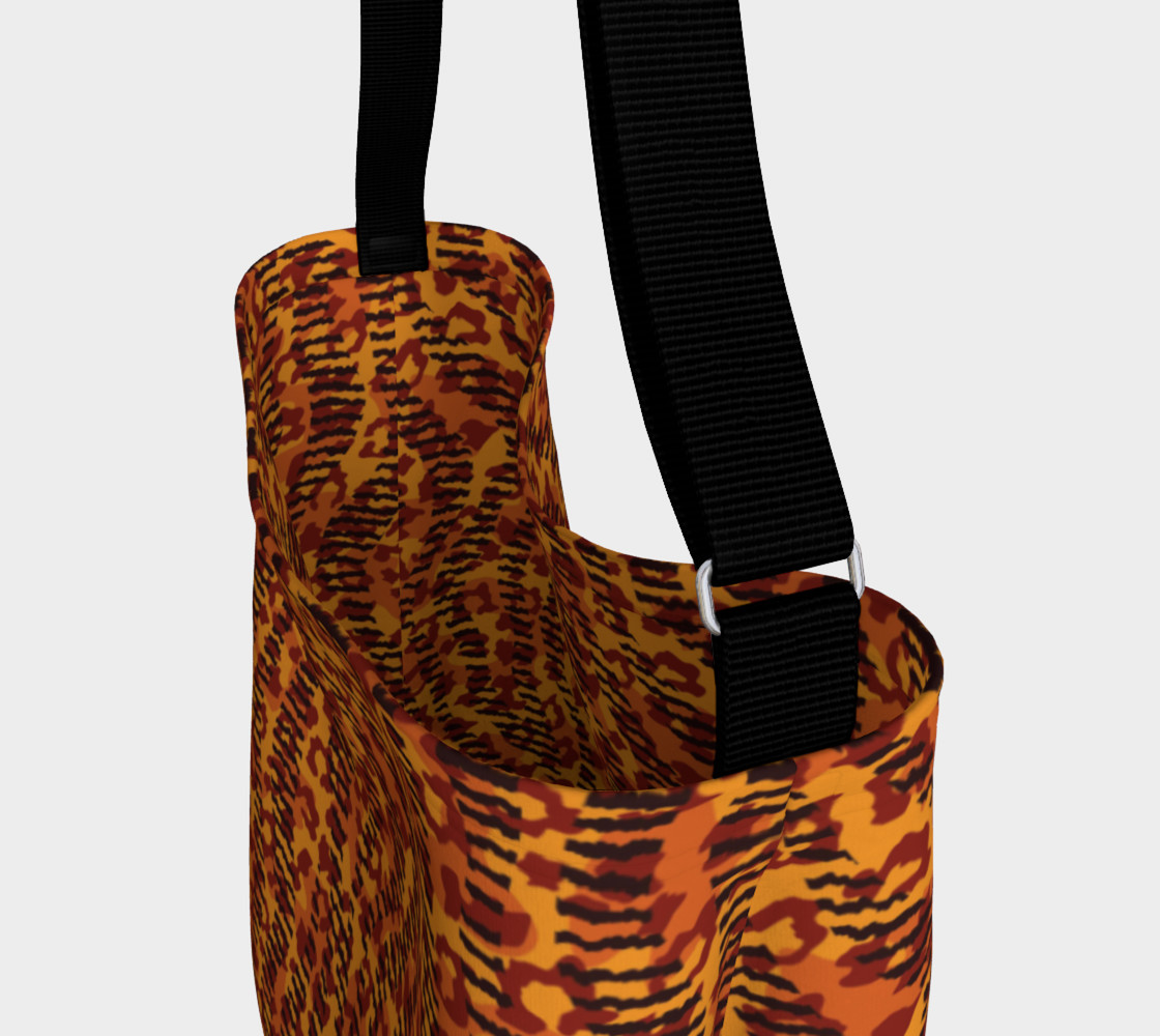 Animal Stripes and Spots Day Tote preview #3