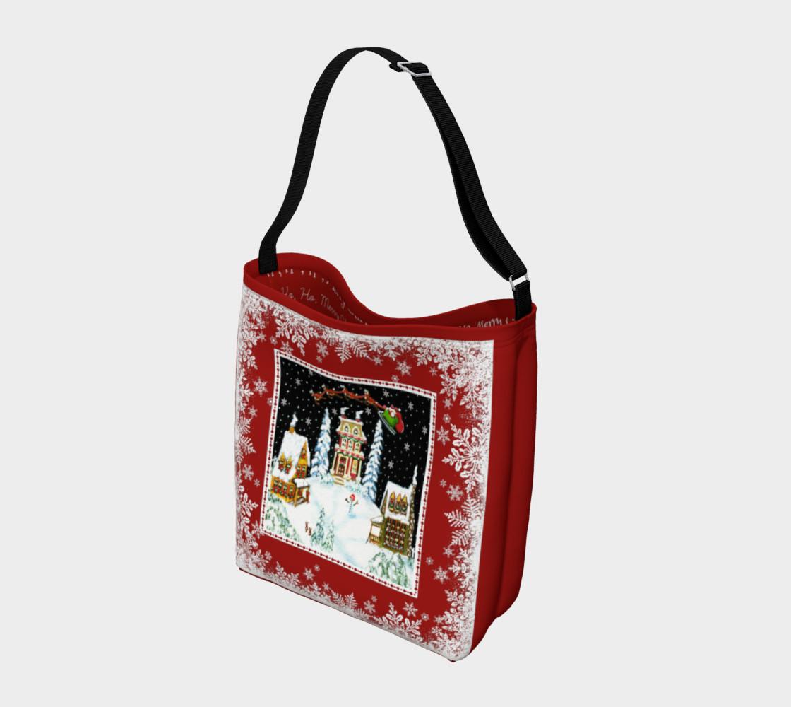 """Christmas """"Ho, Ho,Ho,""""  Tote Bag preview #2"""