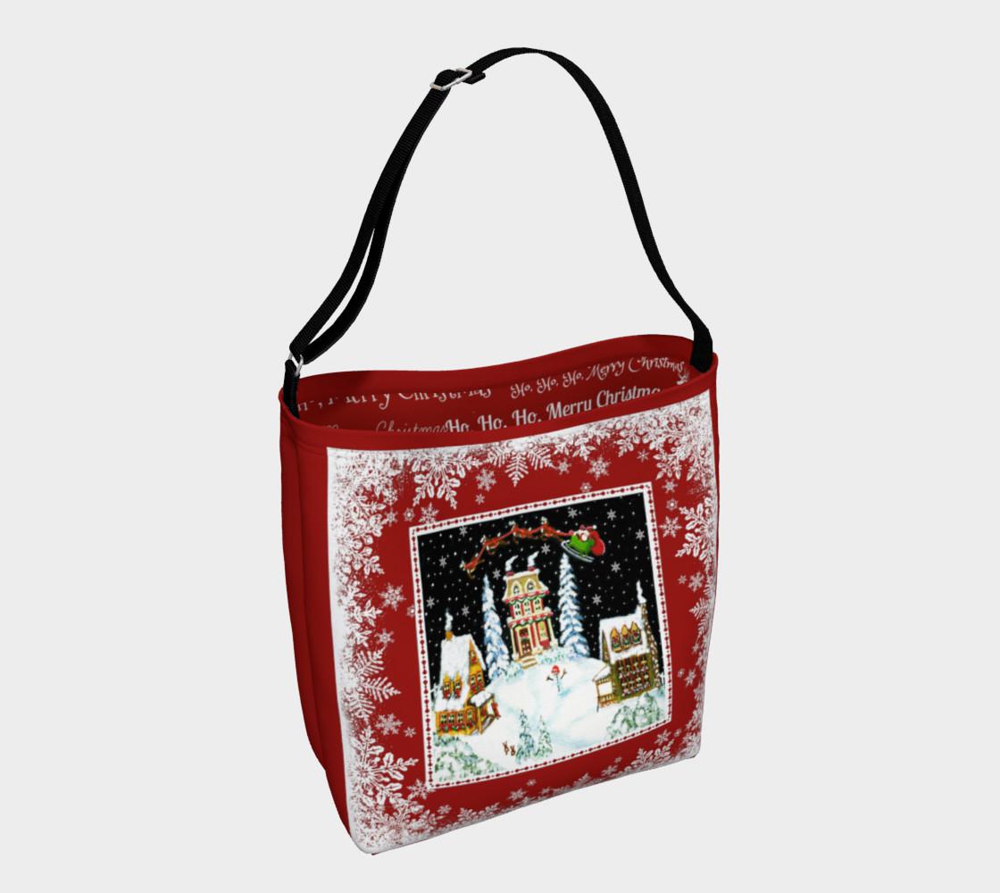 """Christmas """"Ho, Ho,Ho,""""  Tote Bag preview #1"""