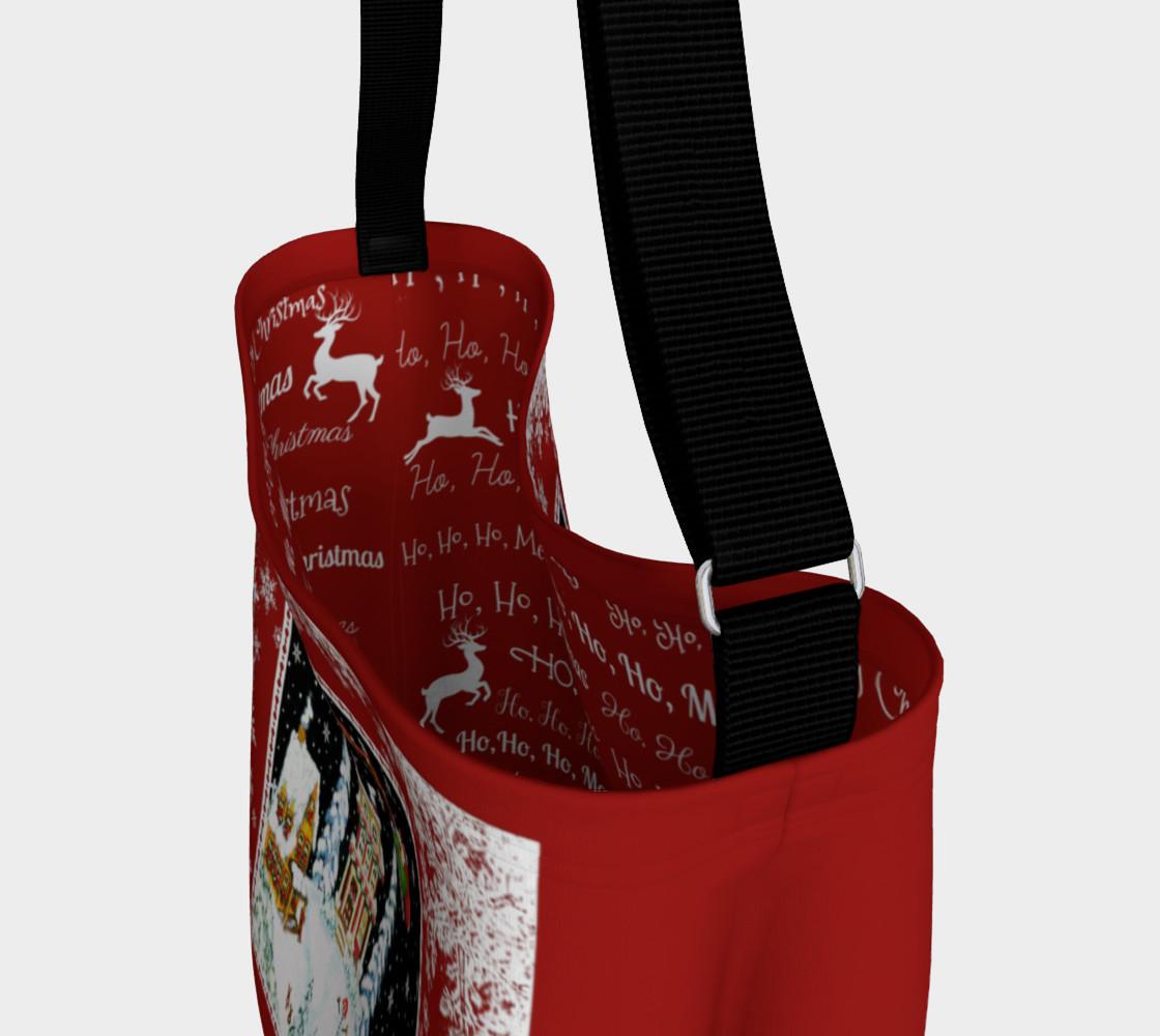 """Christmas """"Ho, Ho,Ho,""""  Tote Bag preview #3"""