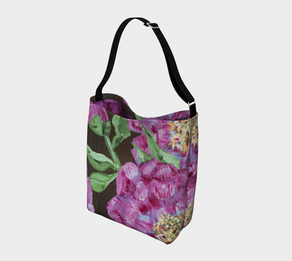 Pink Peony Tote preview #2