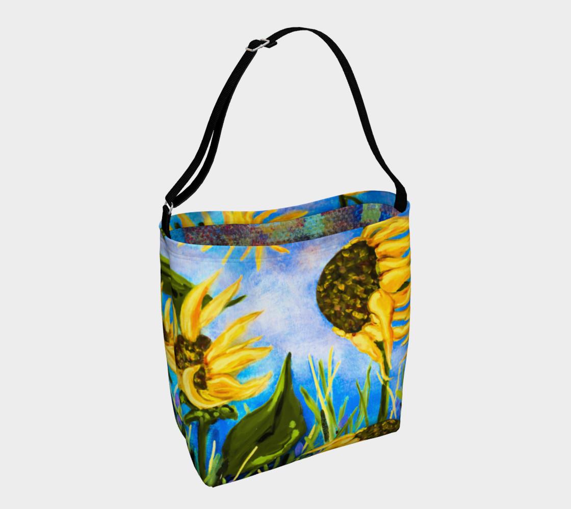 Aperçu de Vibrant Sunflowers 2 Tote #1
