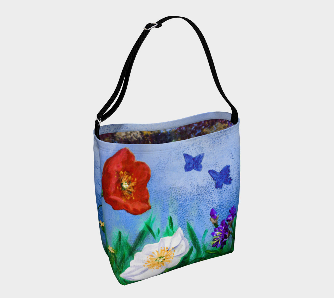 Wildflowers Tote 3D preview
