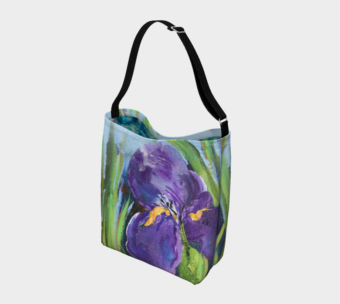 Purple Iris Tote preview #2