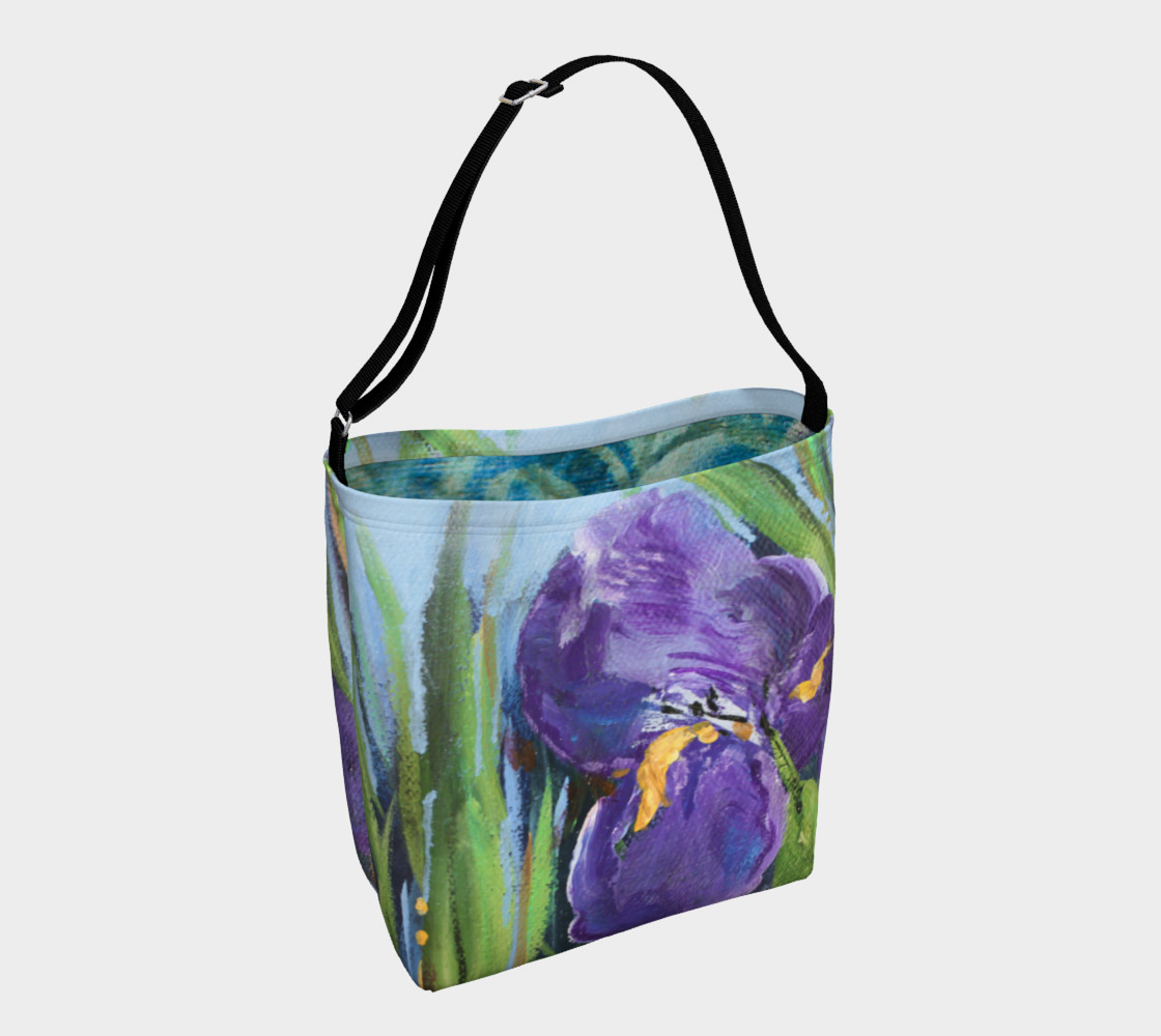 Purple Iris Tote preview #1