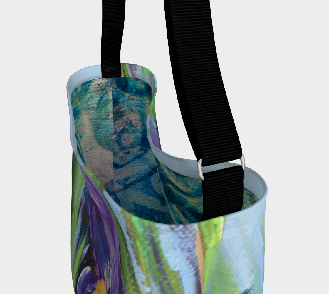 Purple Iris Tote preview #3