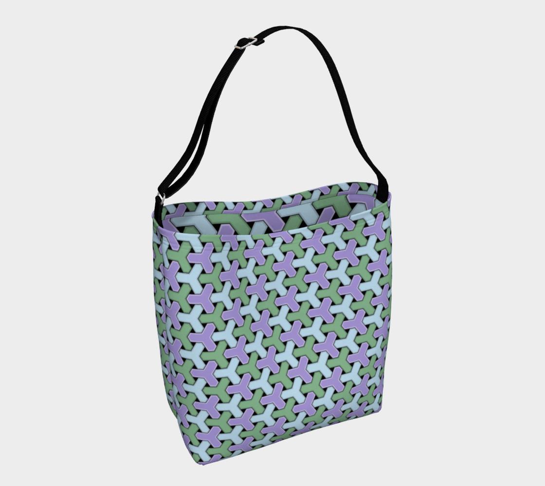 Aperçu de Blue and Green Hexagon #1