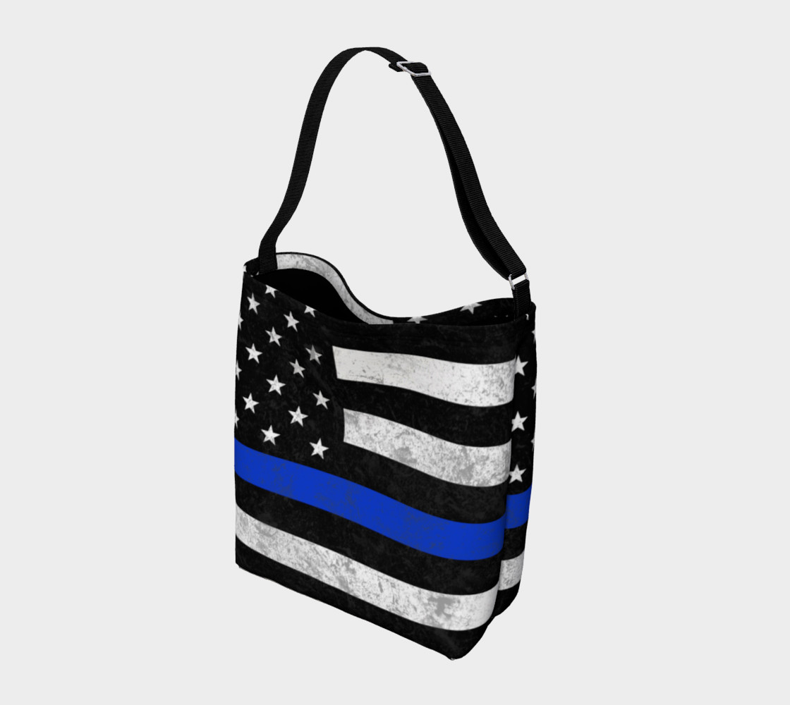 Thin Bue Line Day Tote preview #2