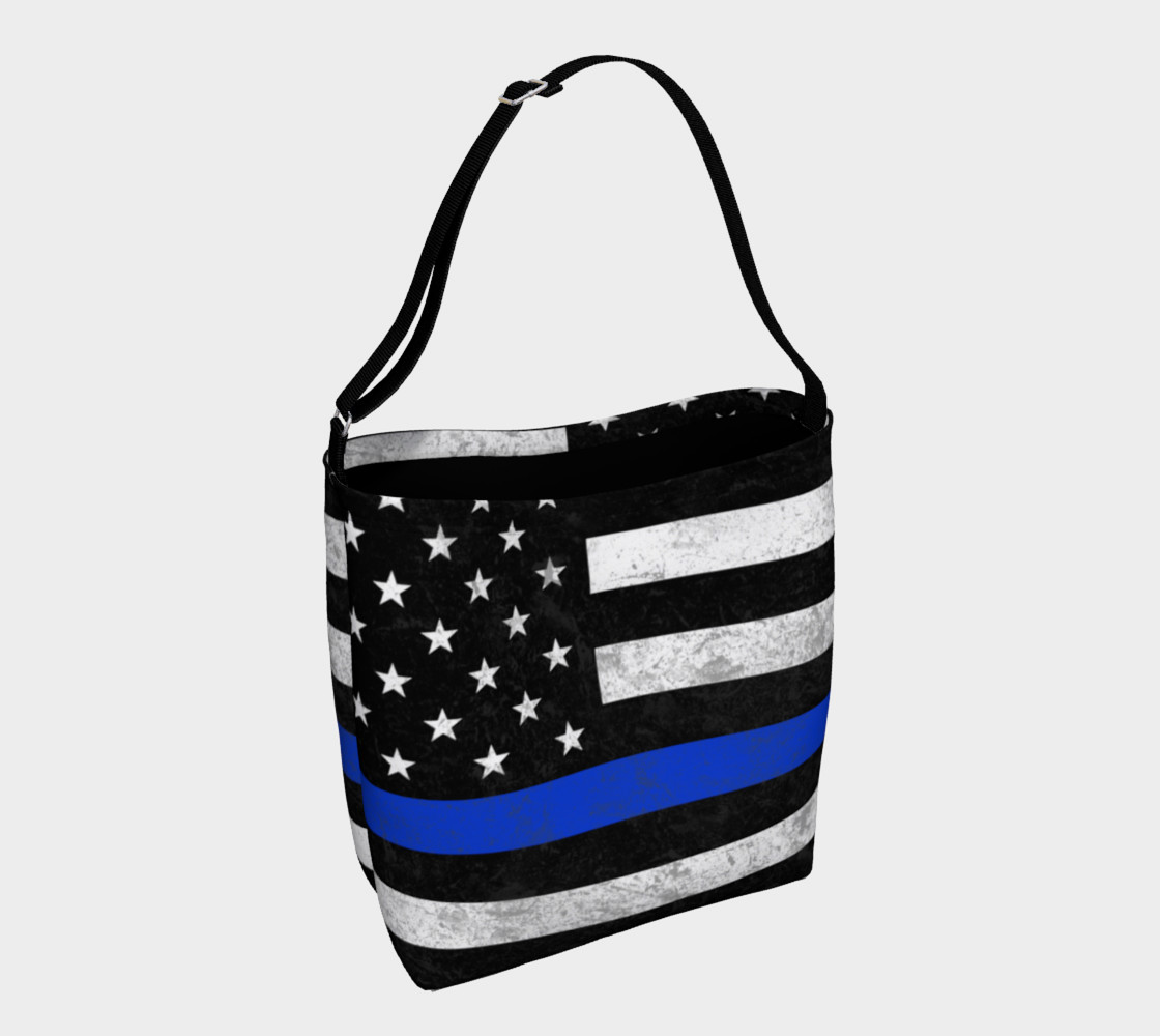 Thin Bue Line Day Tote preview #1