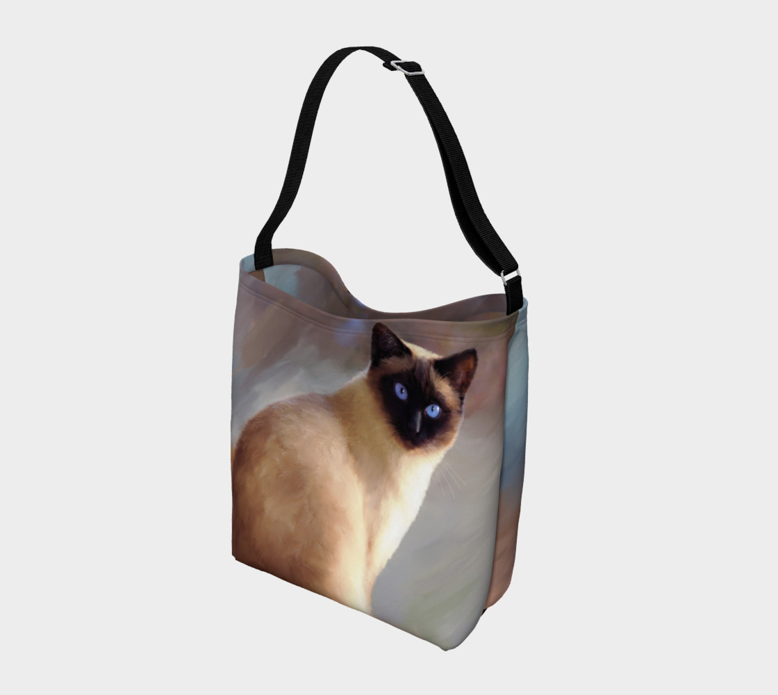 Cat 613 tote bag preview #2