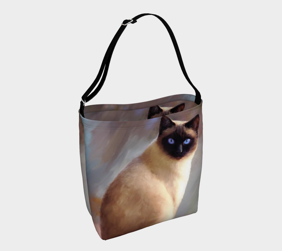 Cat 613 tote bag preview #1