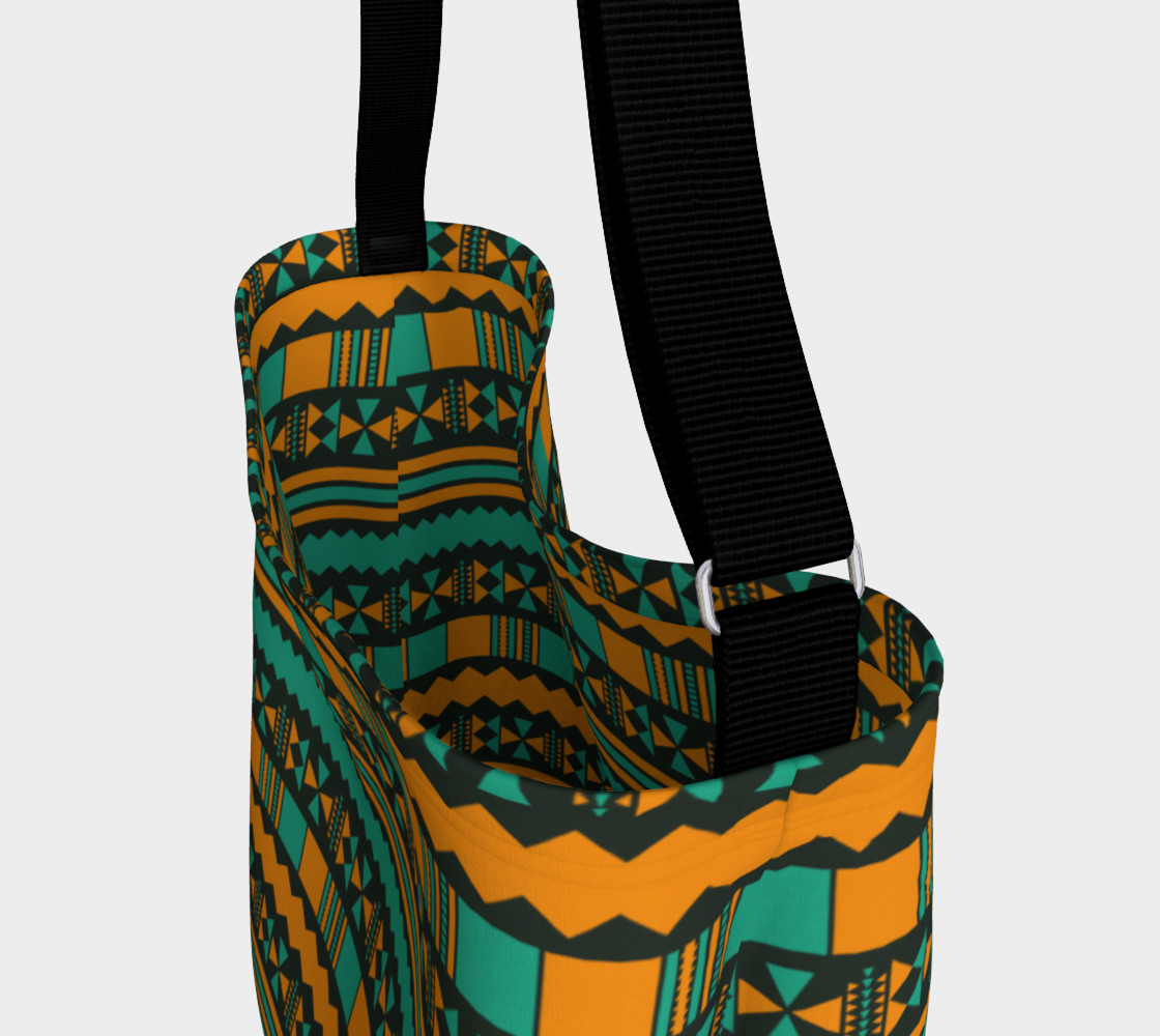 Green and Yellow Aztec Tribal preview #3