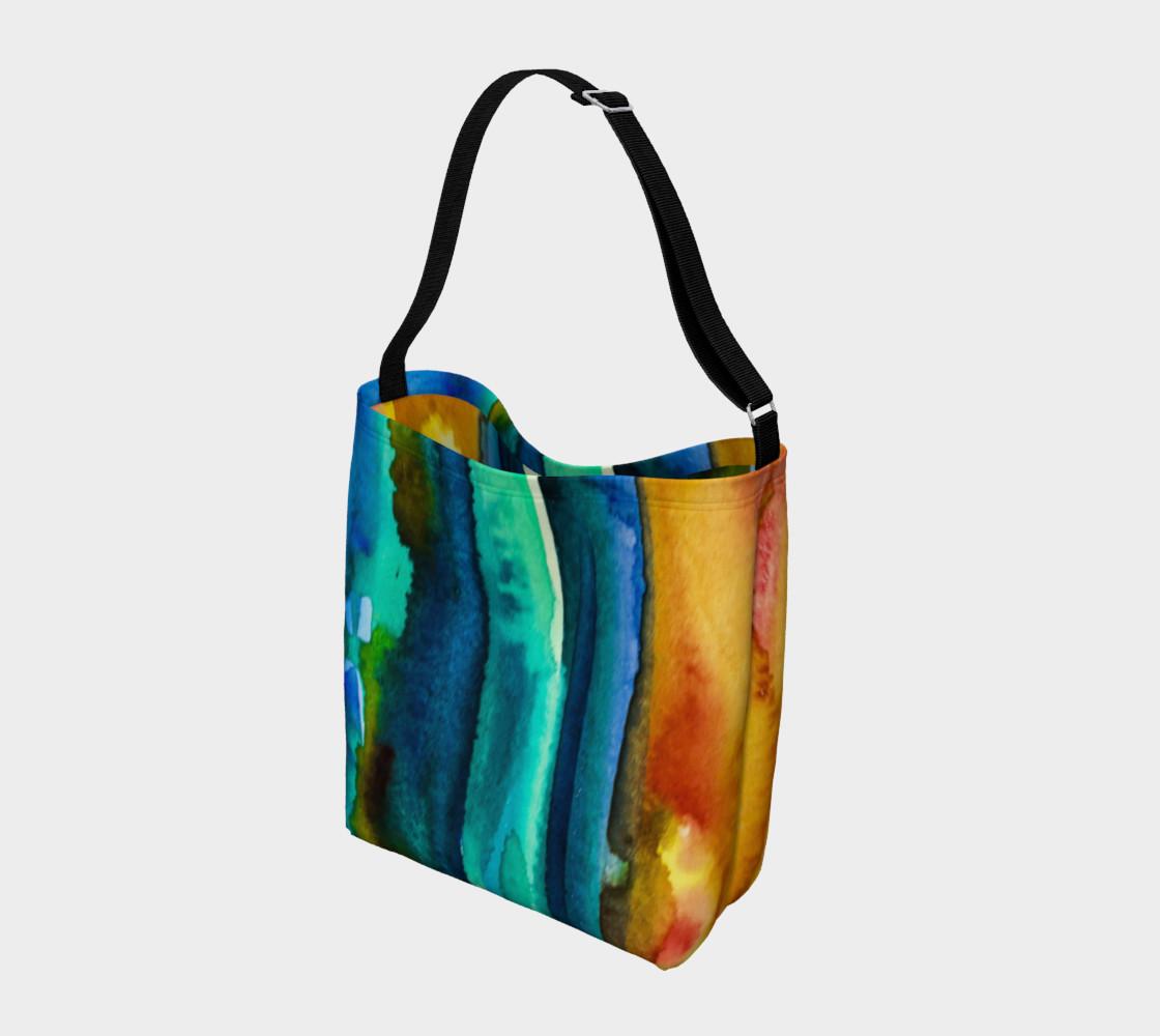 Watercolor Fashion Tote preview #2