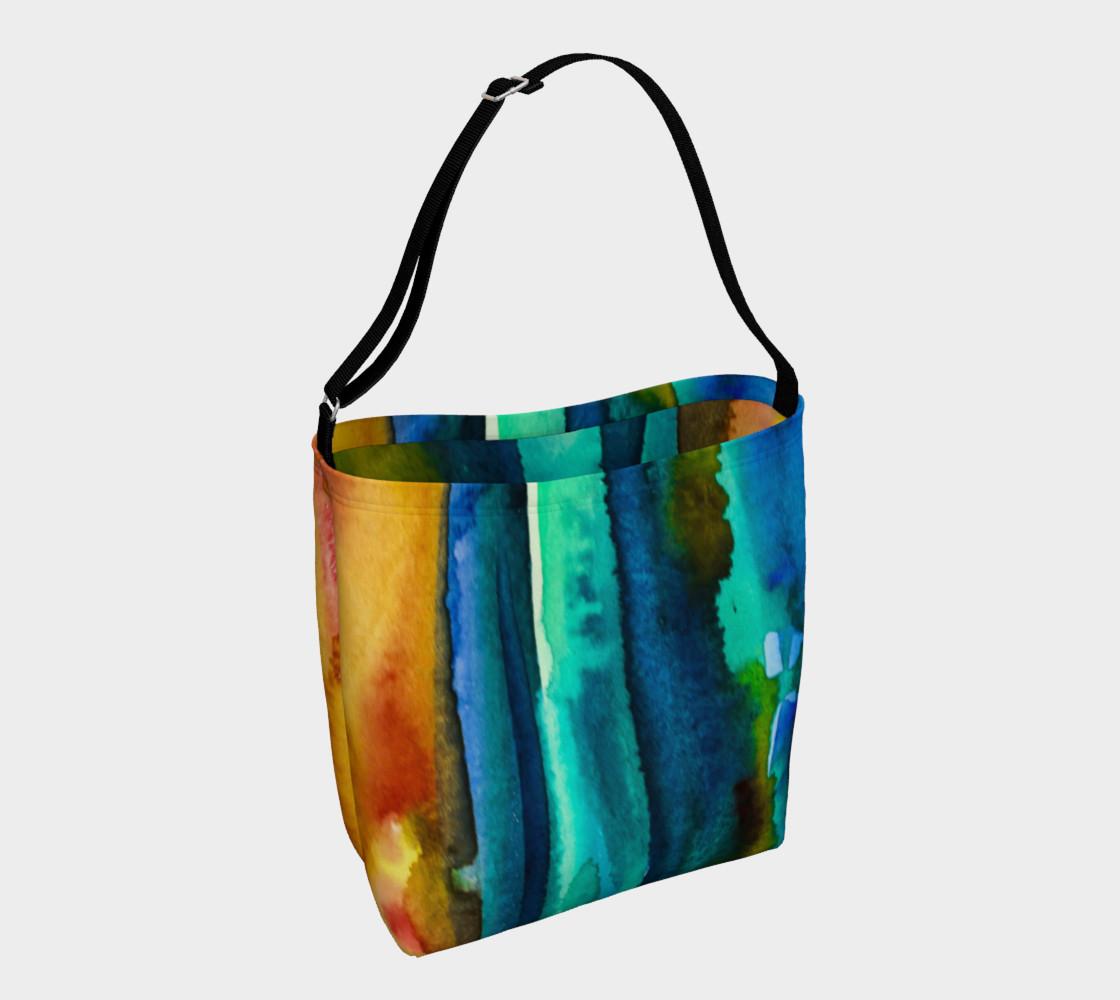 Watercolor Fashion Tote preview #1