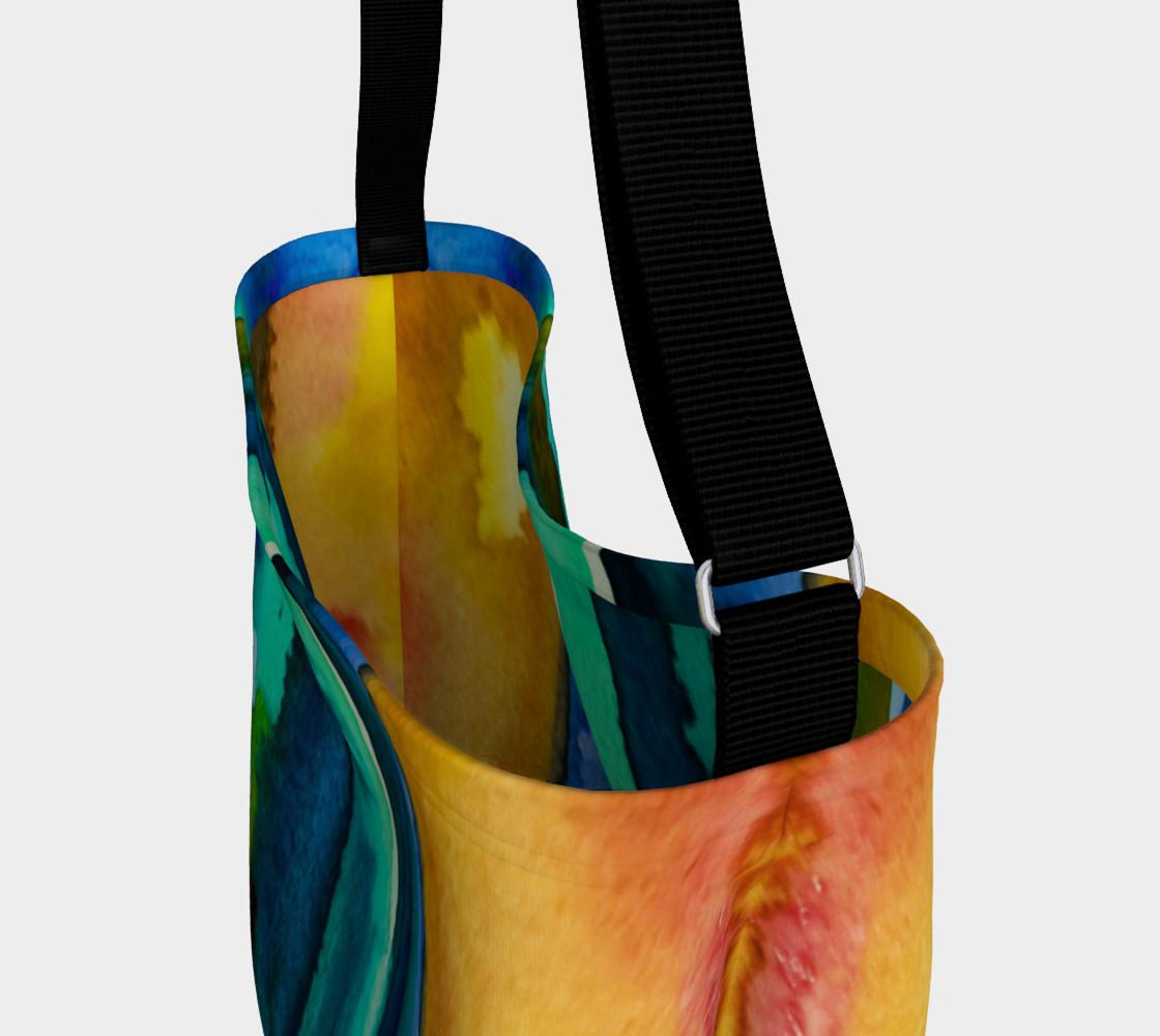 Watercolor Fashion Tote preview #3