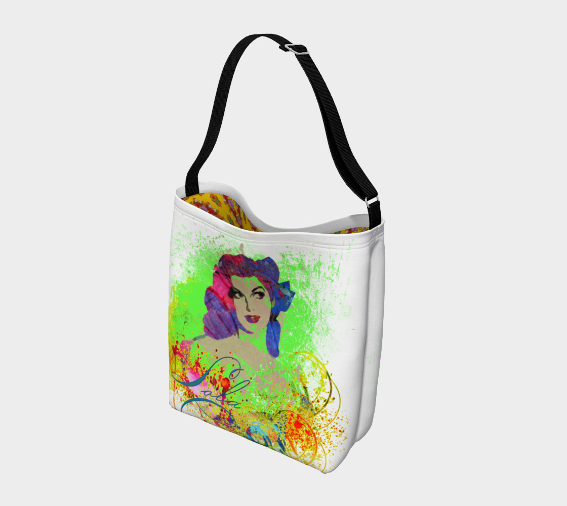 Lola Watercolor  Day Tote preview #2