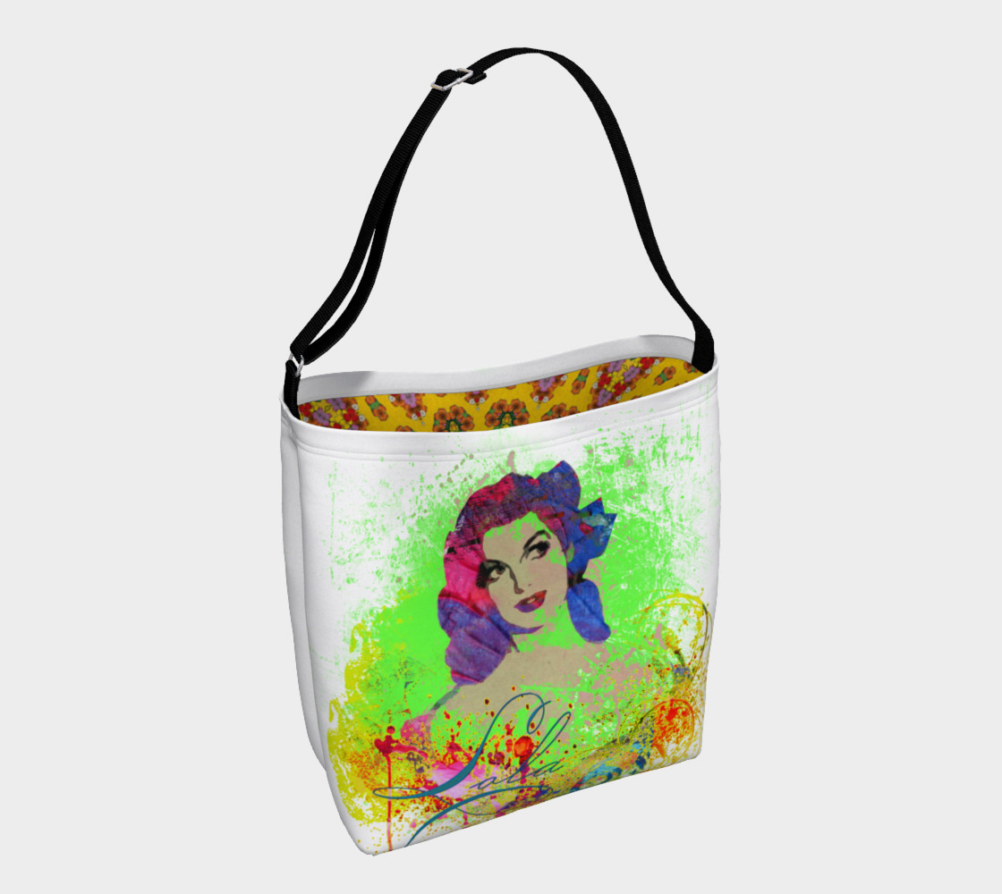 Lola Watercolor  Day Tote preview #1