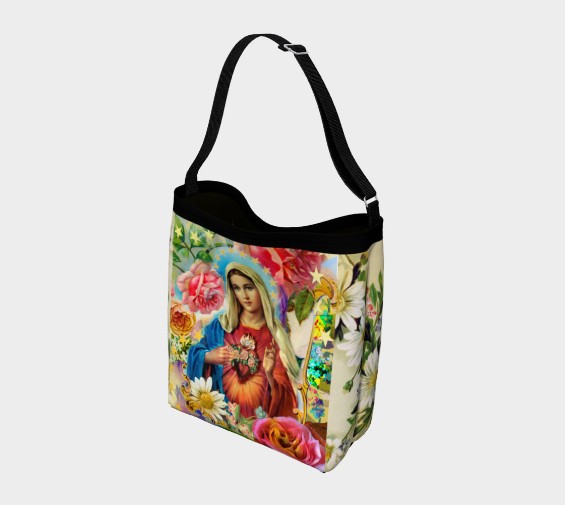 Aperçu de Our Lady of the Roses Day Tote #2