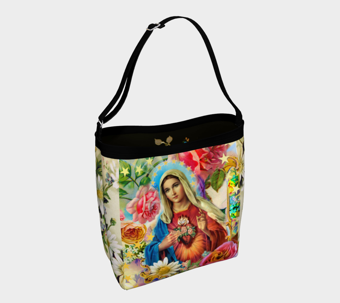Aperçu de Our Lady of the Roses Day Tote #1