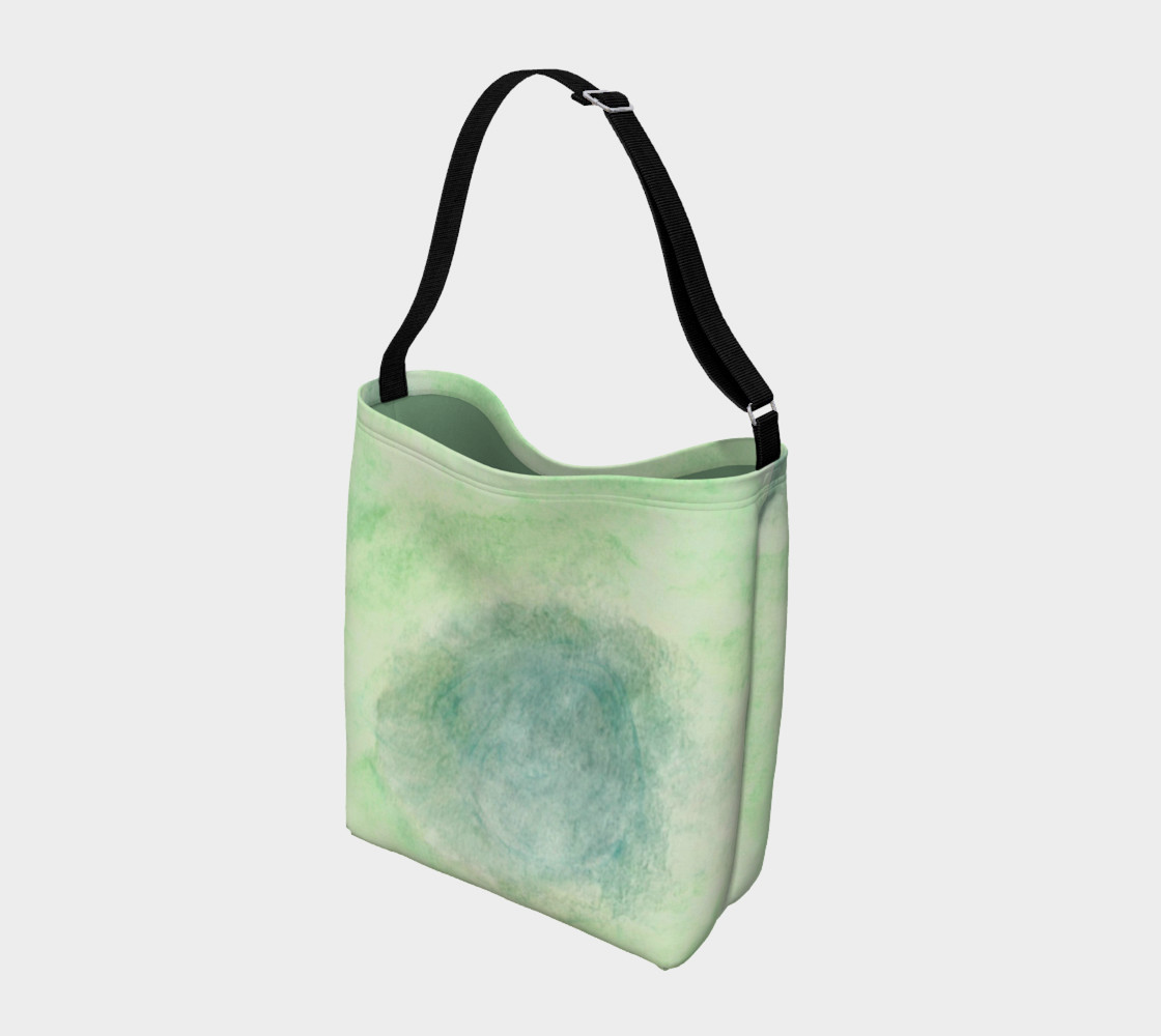 Green Dimension Flower Day Tote preview #2