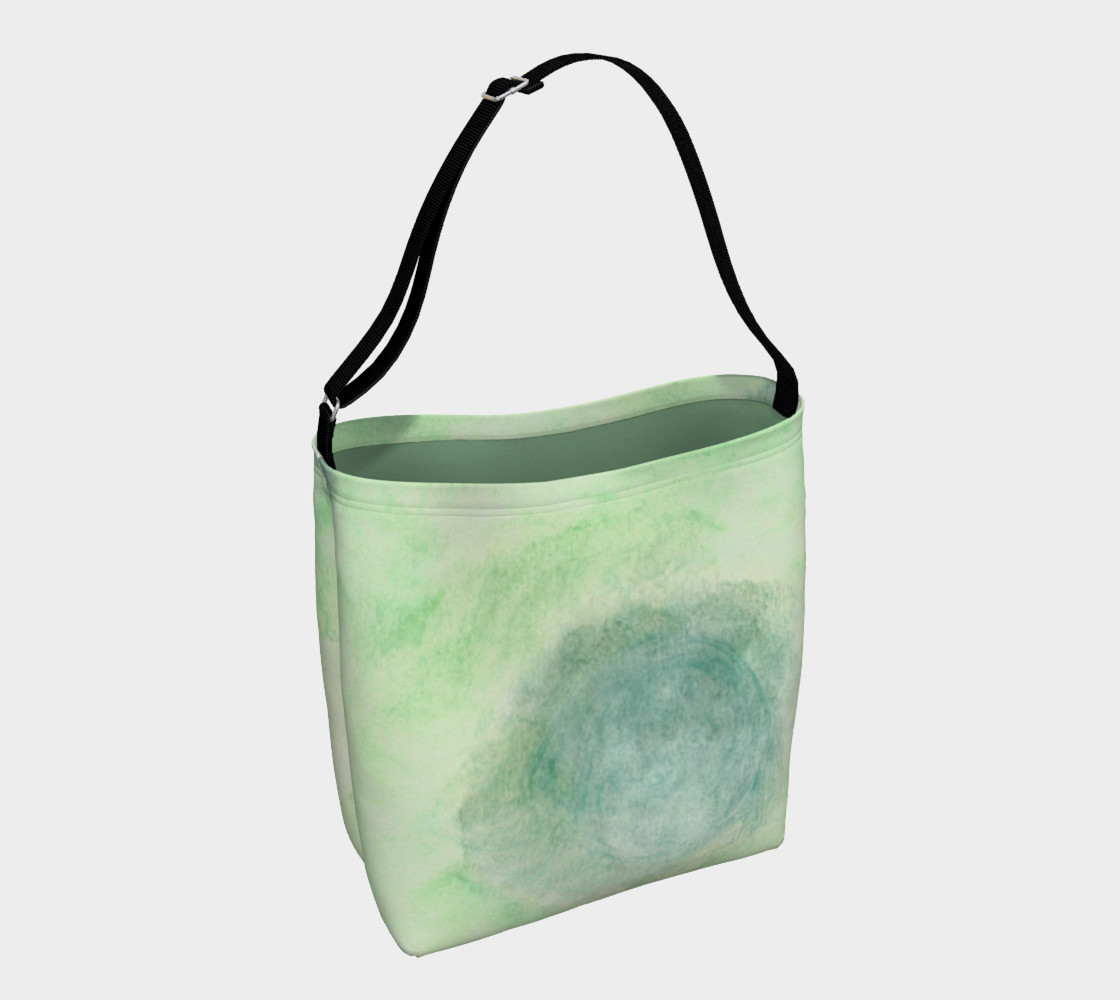 Green Dimension Flower Day Tote preview #1