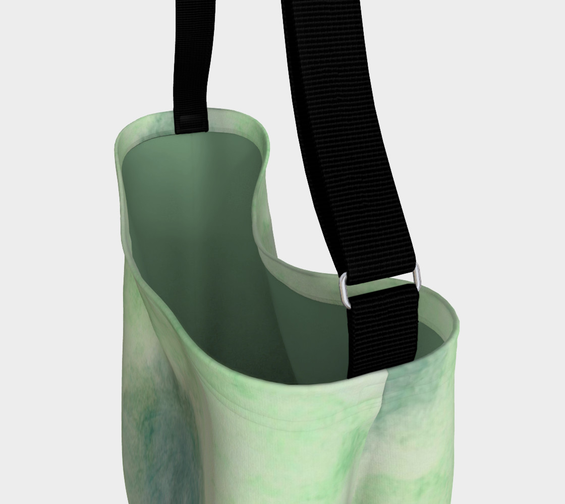 Green Dimension Flower Day Tote preview #3